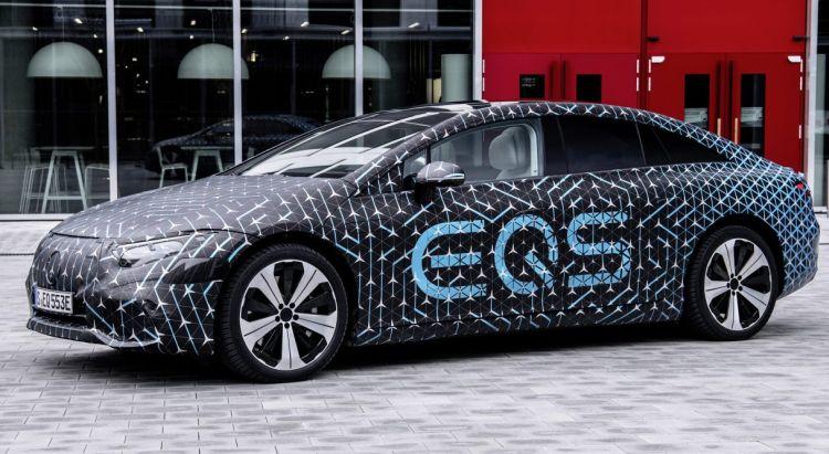 Электрический флагман Mercedes-Benz EQS предложит запас хода 770 км и отличную аэродинамику