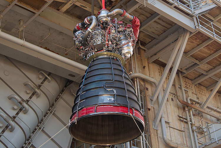 NASA провело второе огневое испытание обновлённого двигателя RS-25 для лунной программы «Артемида»