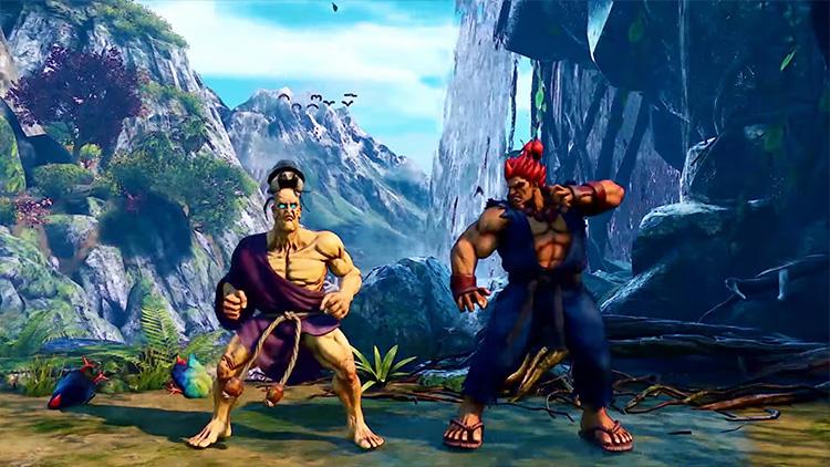 Capcom показала новых бойцов Street Fighter V — Роуз, Оро и Акиру Казаму