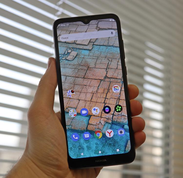 Представлен бюджетный смартфон Nokia C20 со съёмной батареей