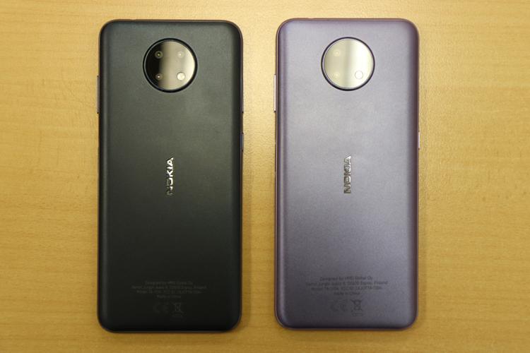 Смартфоны Nokia G10 и G20 получили процессоры MediaTek Helio и ёмкие аккумуляторы