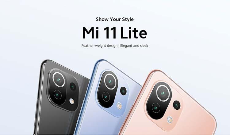 Xiaomi объявила скидки на смартфон Mi 11 Lite в честь старта глобальных продаж