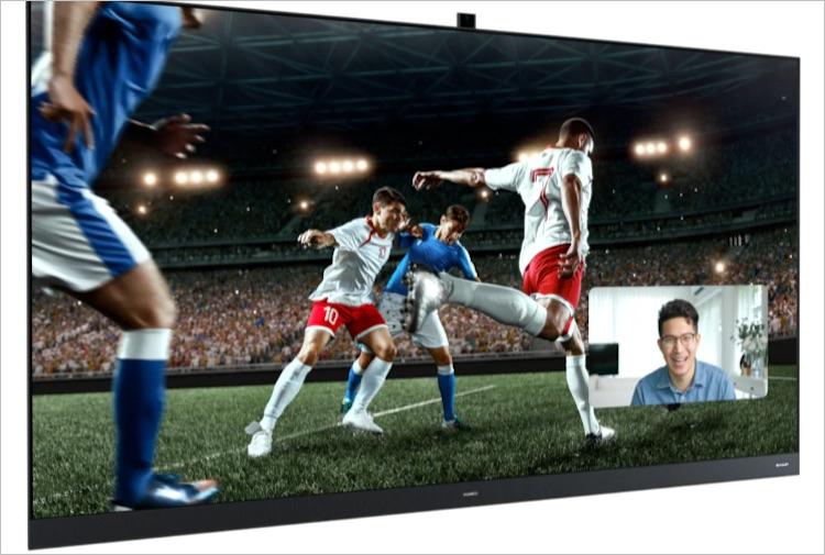 Huawei представила новые флагманские телевизоры Smart Screen V-серии — 120 Гц, HDR Vivid и высокая ярость