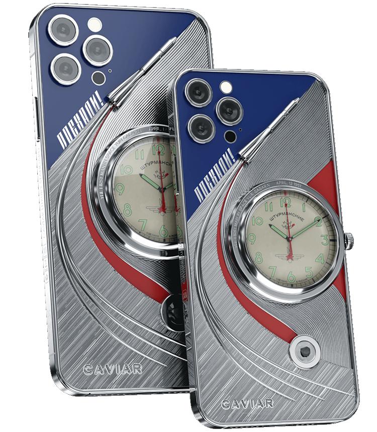 Caviar создала коллекцию iPhone 12 Pro «Покорители космоса» в честь Гагарина, Маска и других. Цена — от 350 тыс. рублей