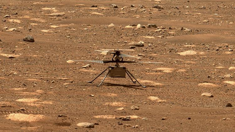 Вертолёту «Изобретательность» для первого полёта на Марсе потребовалось обновление прошивки. Запуск отложен до следующей недели