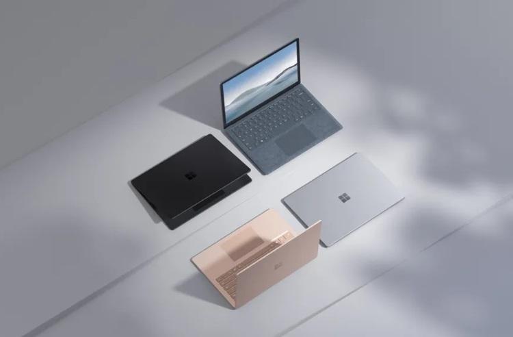 Microsoft представила ноутбуки Surface Laptop 4 на процессорах Intel и AMD. Последние намного дешевле