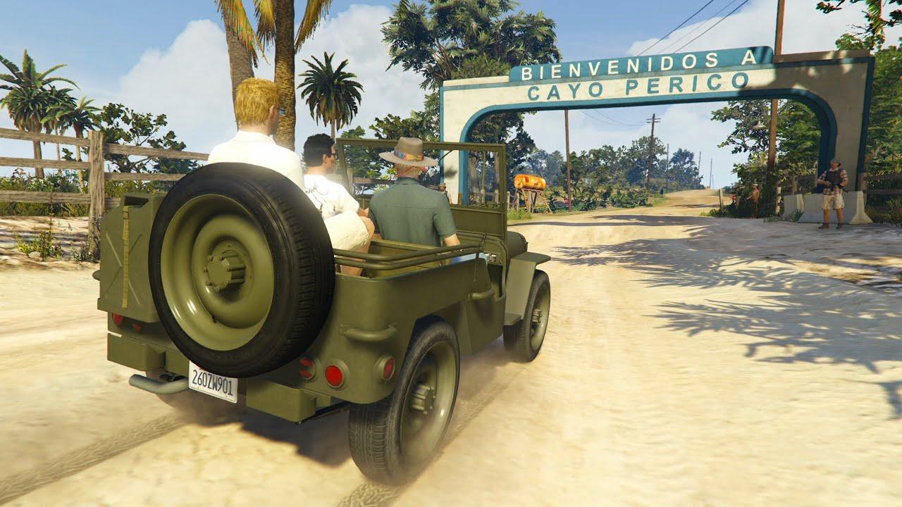 Моддер перенес крупнейшее ограбление вместе с новой локацией из GTA Online в сюжетный режим GTA V