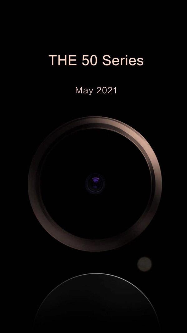 Бренд Honor представит в мае новую серию смартфонов Honor V50