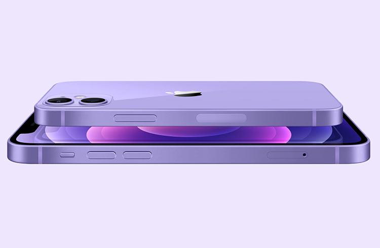 Apple представила iPhone 12 и iPhone 12 mini фиолетового цвета