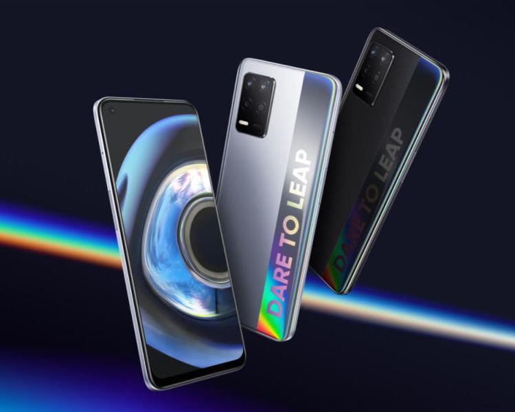 Представлены смартфоны Realme Q3 5G и Q3i 5G с 6,5' дисплеем и 48-Мп камерой