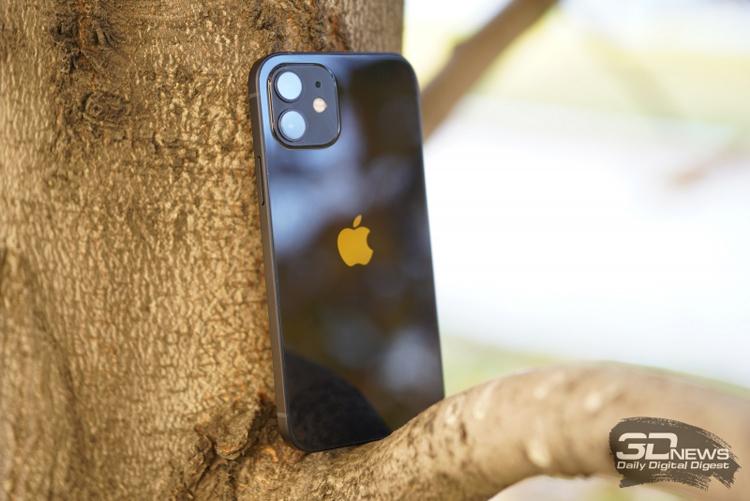 Больше 60 % продаваемых в США смартфонов Apple — это модели серии iPhone 12