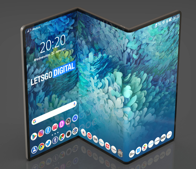 Samsung зарегистрировала марку Galaxy Z Fold для складного планшета