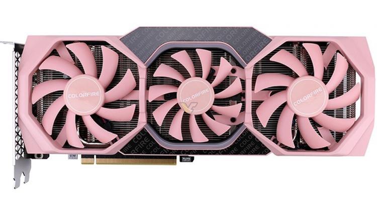Colorful выпустит видеокарты GeForce GTX 16xx ColorFire в розовом цвете