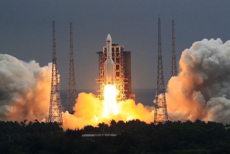 Запуск китайской космической станции обернётся масштабным неконтролируемым падением обломков ракеты на Землю