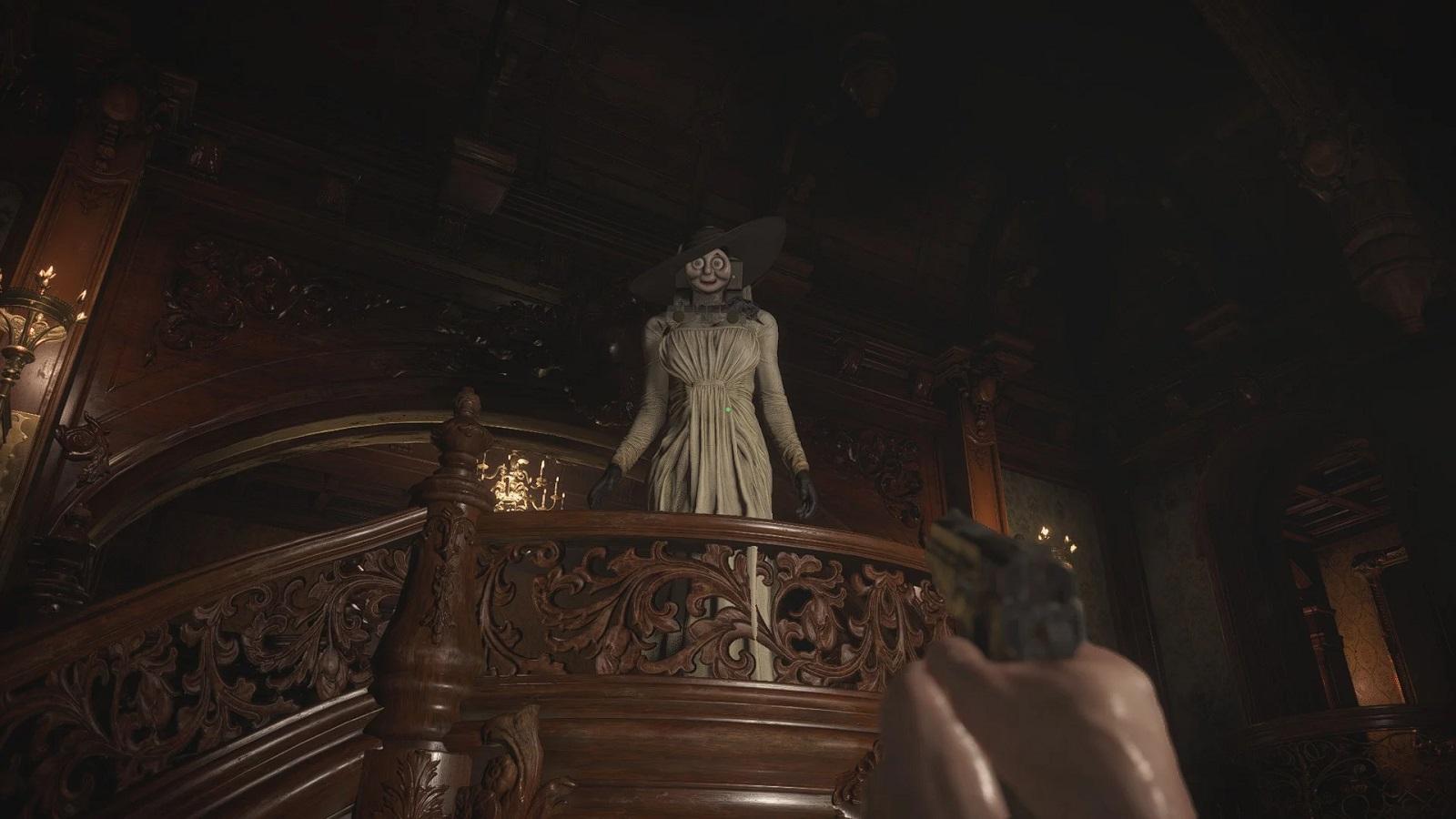 Вид от третьего лица, паровозик Томас и Рикардо Милос: моддеры уже облюбовали Resident Evil Village