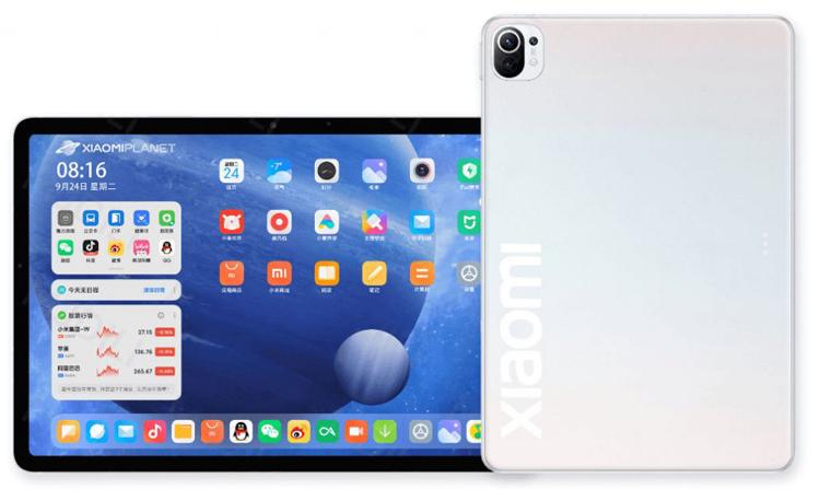 Планшет Xiaomi Mi Pad 5 получит мощный аккумулятор и процессор Snapdragon 870