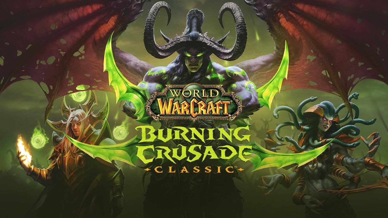 Официально: запуск расширения World of Warcraft: Burning Crusade Classic состоится в ночь с 1 на 2 июня