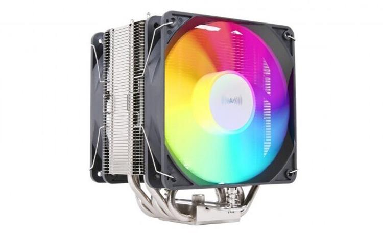 Представлен кулер ProArtist Gratify 5 RGB с двумя 120-мм вентиляторами с подсветкой