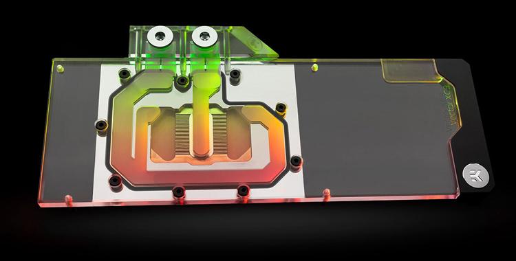 EK выпустила водоблок для видеокарт EVGA XC3 RTX 3070