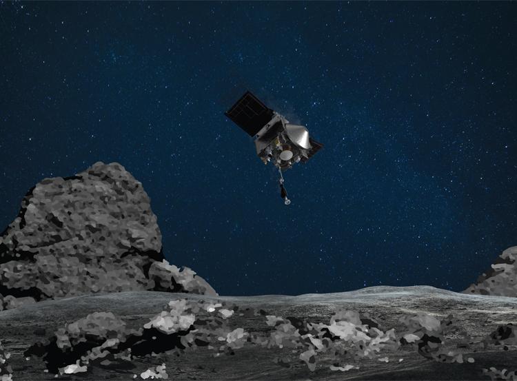 Зонд OSIRIS-REx попрощался с астероидом Бенну и взял курс на Землю