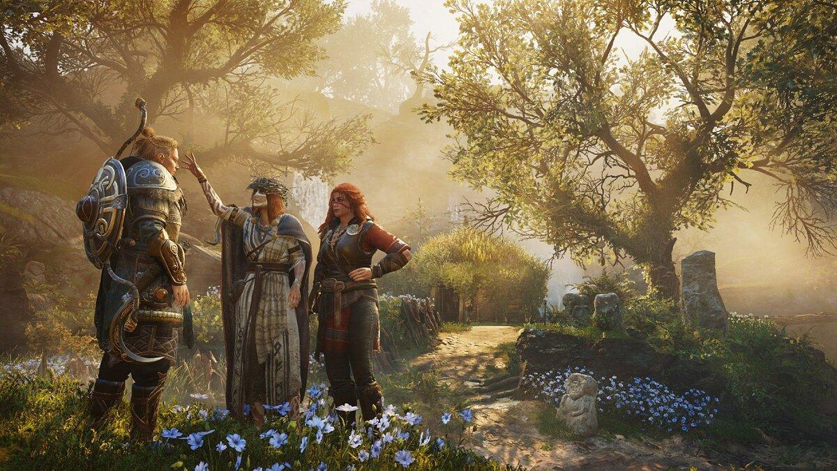 Видео: красочная Ирландия и Дети Дану в трейлере дополнения «Гнев друидов» к Assassin's Creed Valhalla