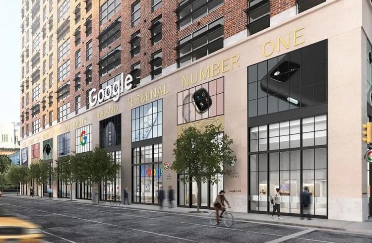 Первый розничный магазин Google откроется летом в Нью-Йорке
