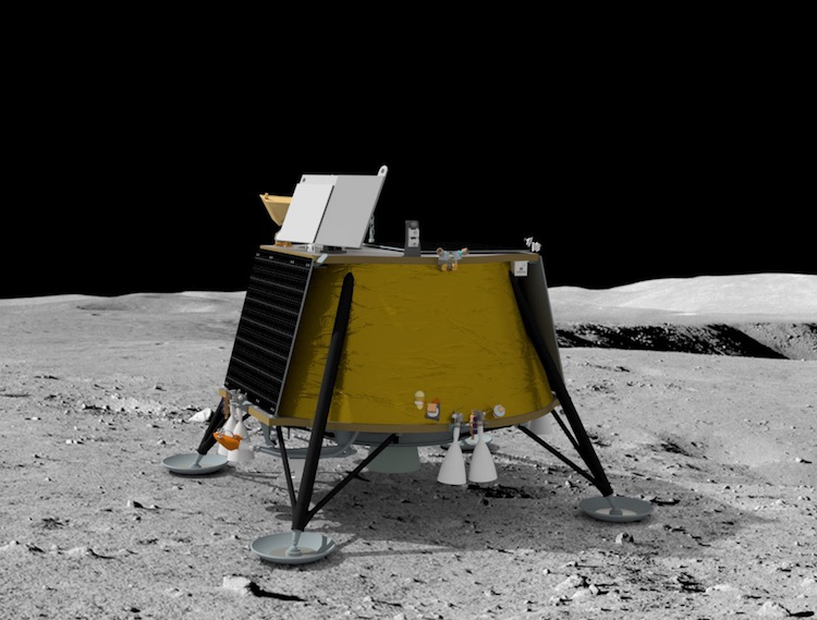 Американо-украинская Firefly Aerospace заключила контракт с SpaceX по доставке посадочного модуля на Луну в 2023 году