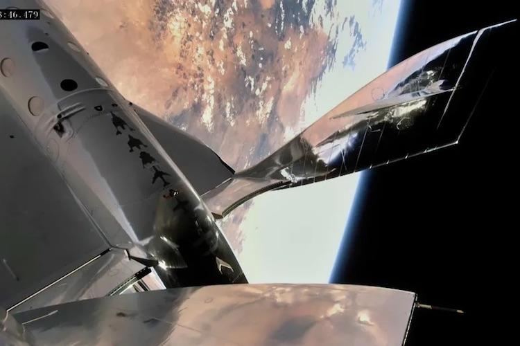 Космический самолёт Virgin Galactic VSS Unity совершил успешный полёт