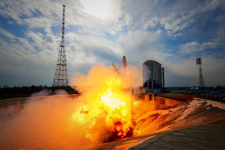 «Роскосмос» определился с районом посадки ступени многоразовой ракеты