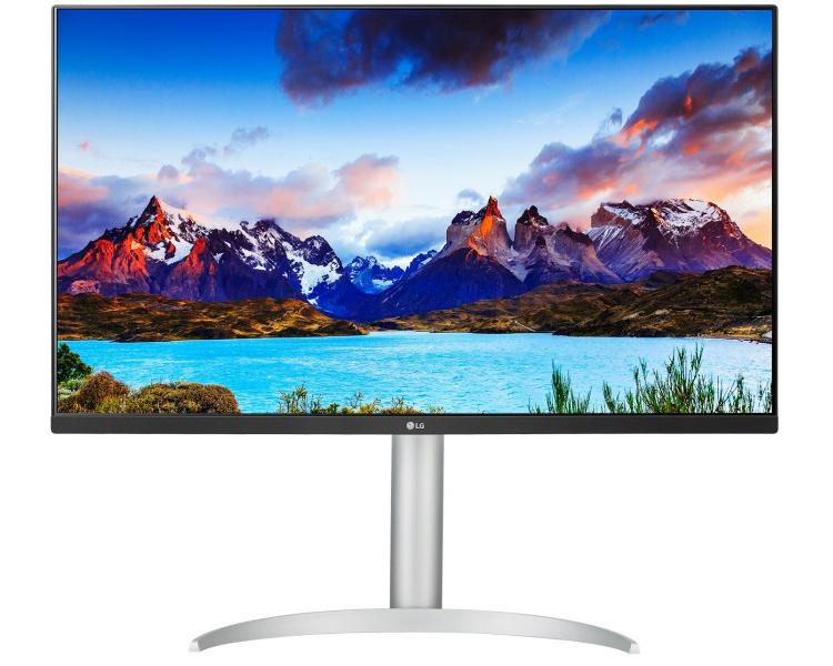 Представлен монитор LG 32UP550-W формата 4К с разъёмом USB Type-C с для вывода изображения и зарядки ноутбука