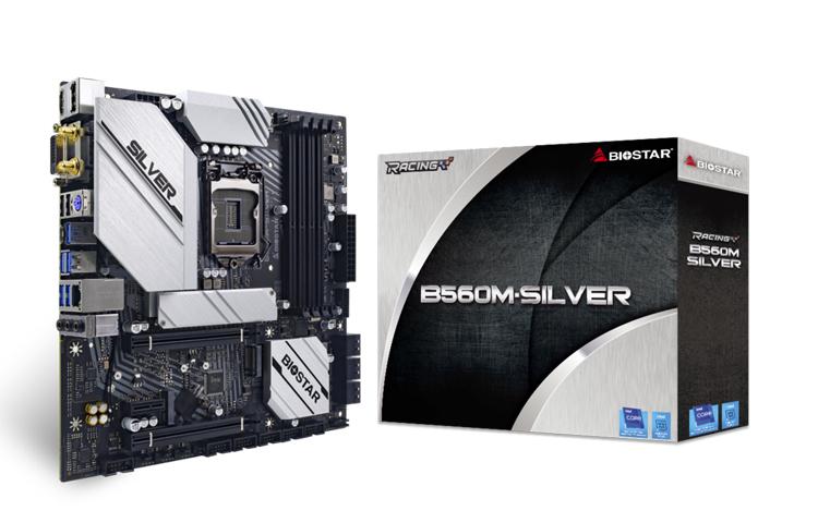 Представлена плата Biostar B560M-SILVER под процессоры Intel Rocket Lake-S