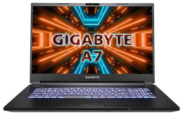 Gigabyte представила игровой ноутбук Gaming A7 X1 на базе Ryzen 9 5900HX и GeForce RTX 3070