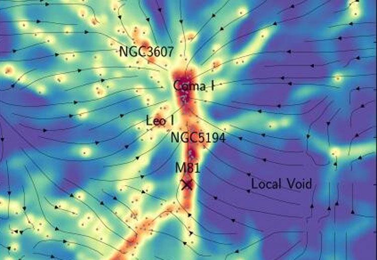 Учёные обнаружили между галактиками невидимые «мосты» из тёмной материи
