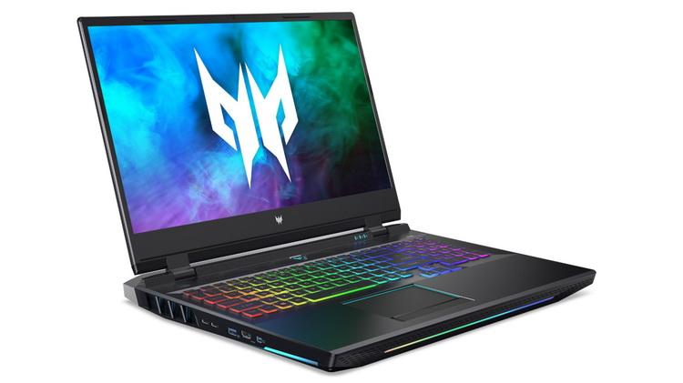 Acer представила игровые ноутбуки Predator с процессорами Intel Tiger Lake-H и видеокартой GeForce RTX 3000