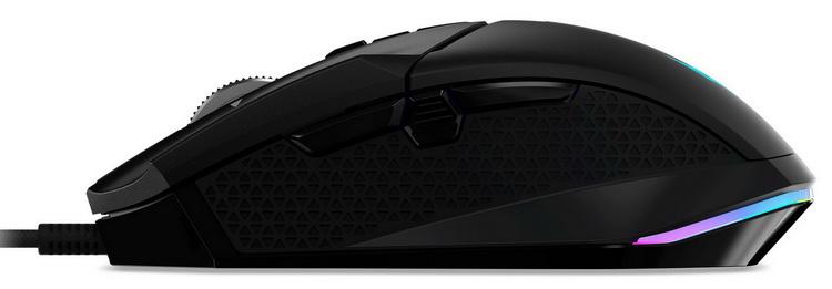 Acer представила игровую мышь Predator Cestus 335 с частотой опроса 2000 Гц
