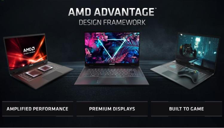 AMD представила Advantage Design Framework — концепцию идеального игрового ноутбука