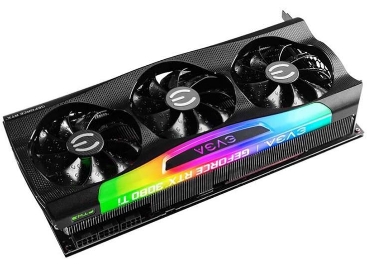 EVGA представила восемь собственных версий GeForce RTX 3080 Ti и RTX 3070 Ti