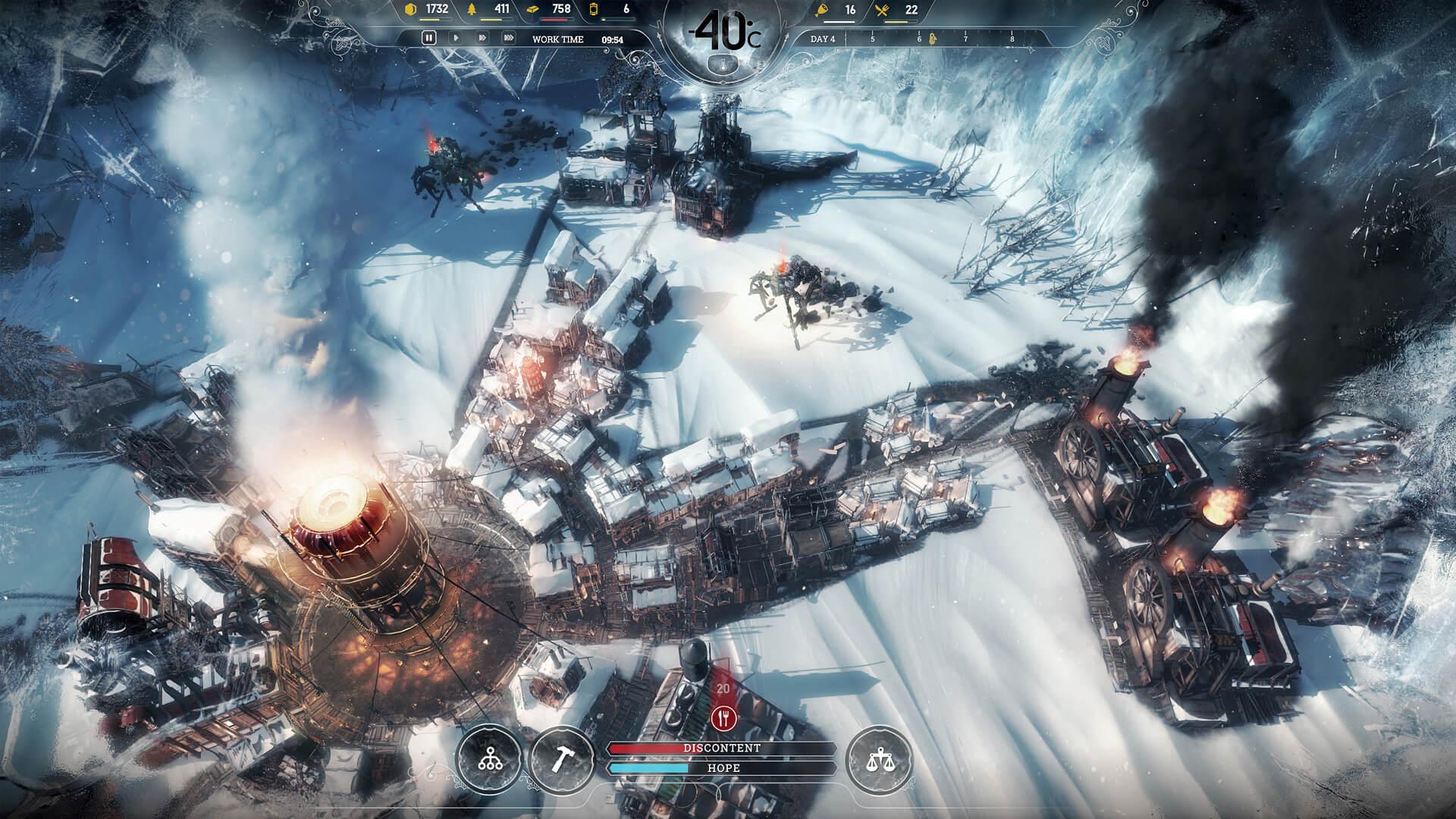 В Epic Games Store началась раздача Frostpunk, на очереди — четвёртая «тайная игра»