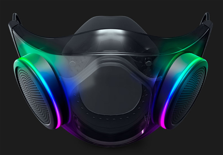 Razer скоро выпустит защитную маску с RGB-подсветкой и усилителем голоса