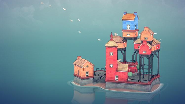 Медитативный конструктор островных городков Townscaper выйдет на PC и Switch августе