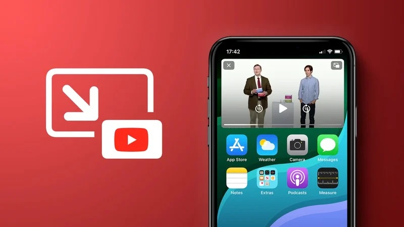 YouTube официально запустит режим «картинка в картинке» на iPhone и iPad