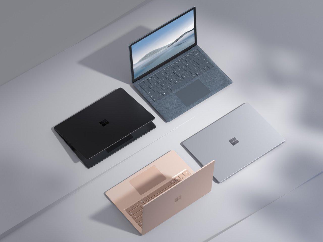 Microsoft анонсировала Surface Laptop 4 с новой расцветкой Ice Blue