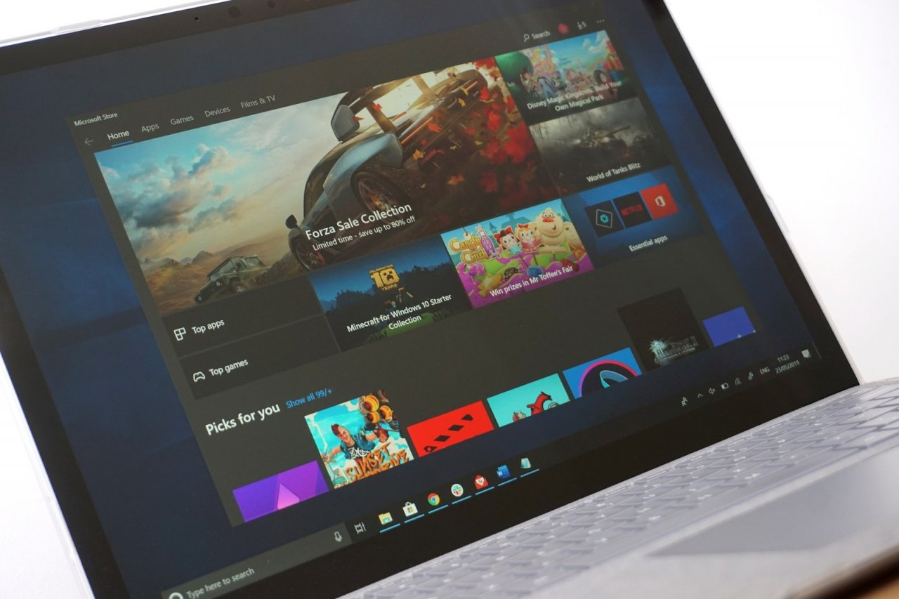 Microsoft разрабатывает новый магазин приложений для Windows 10