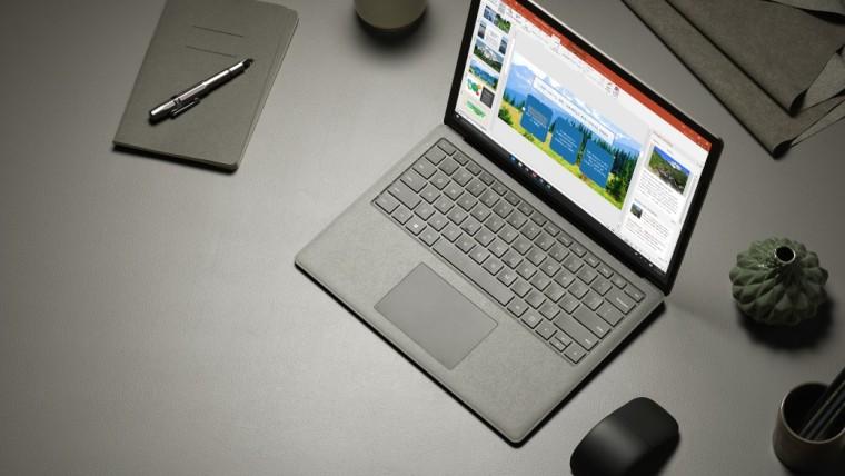 Microsoft, похоже, тизерит грядущий анонс Surface Laptop 4