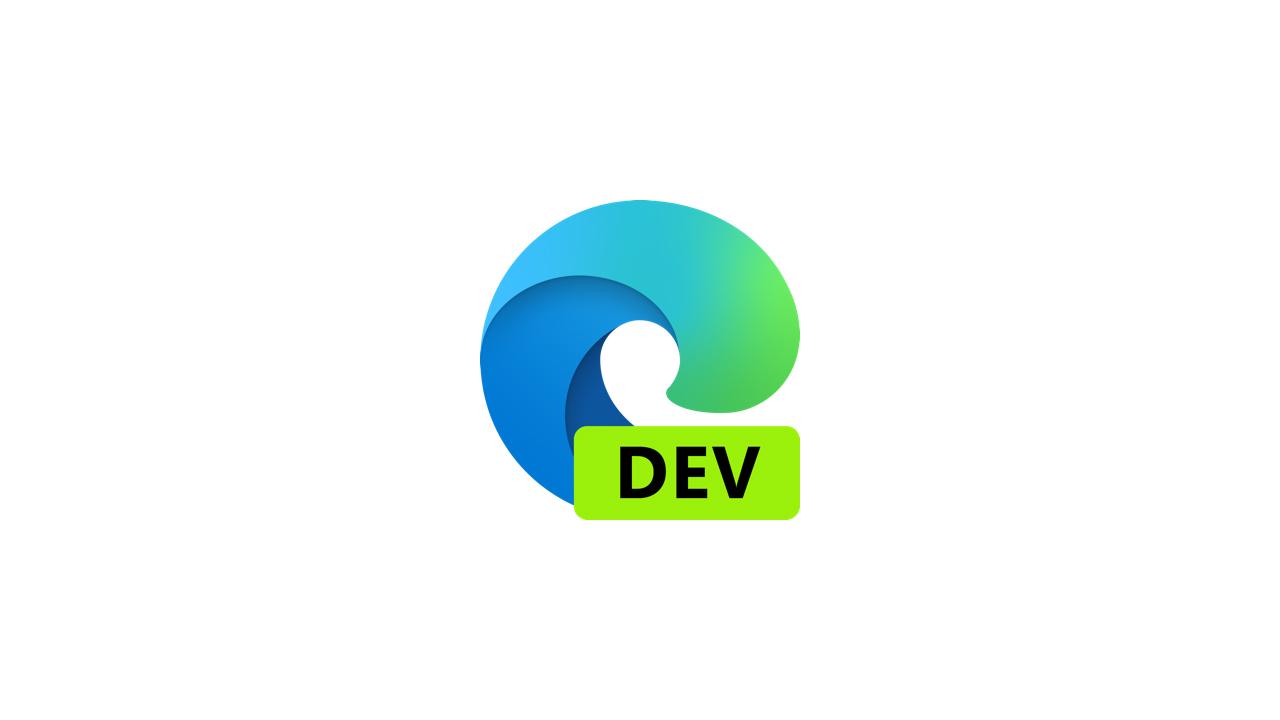 Выпущена сборка Microsoft Edge Dev 91.0.852.0