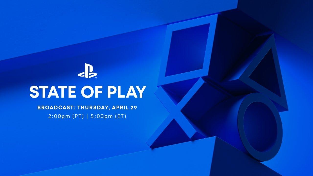 Sony проведёт трансляцию State of Play в ночь с 29 на 30 апреля