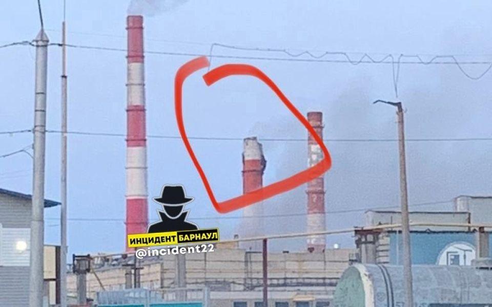Соцсети: в Барнауле произошел взрыв в трубе на ТЭЦ-2