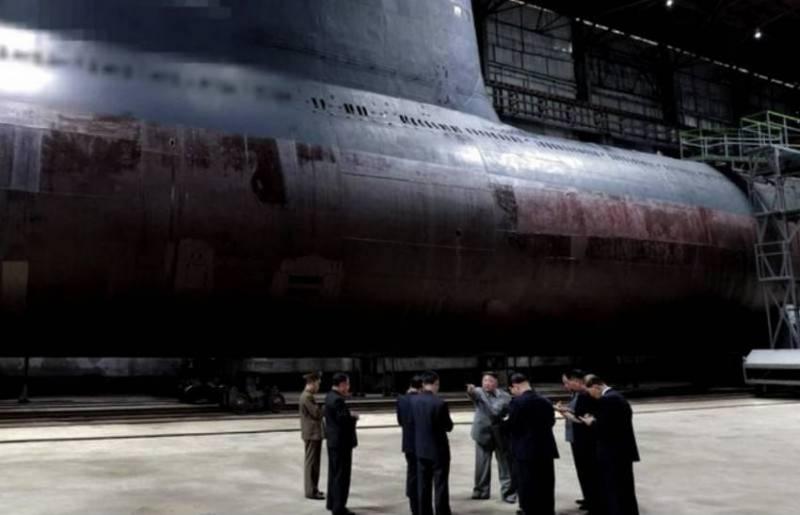 Разведка Южной Кореи: КНДР завершила строительство «секретной» субмарины