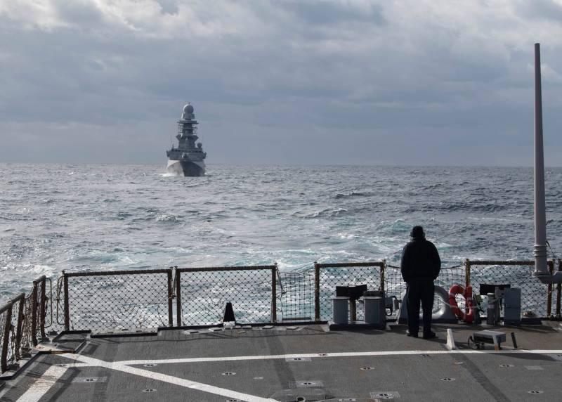Пресса Турции: США отменили решение о заходе двух боевых кораблей в Чёрное море