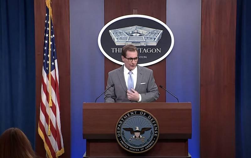 Пентагон призвал Россию «прояснить» намерения в отношении Украины
